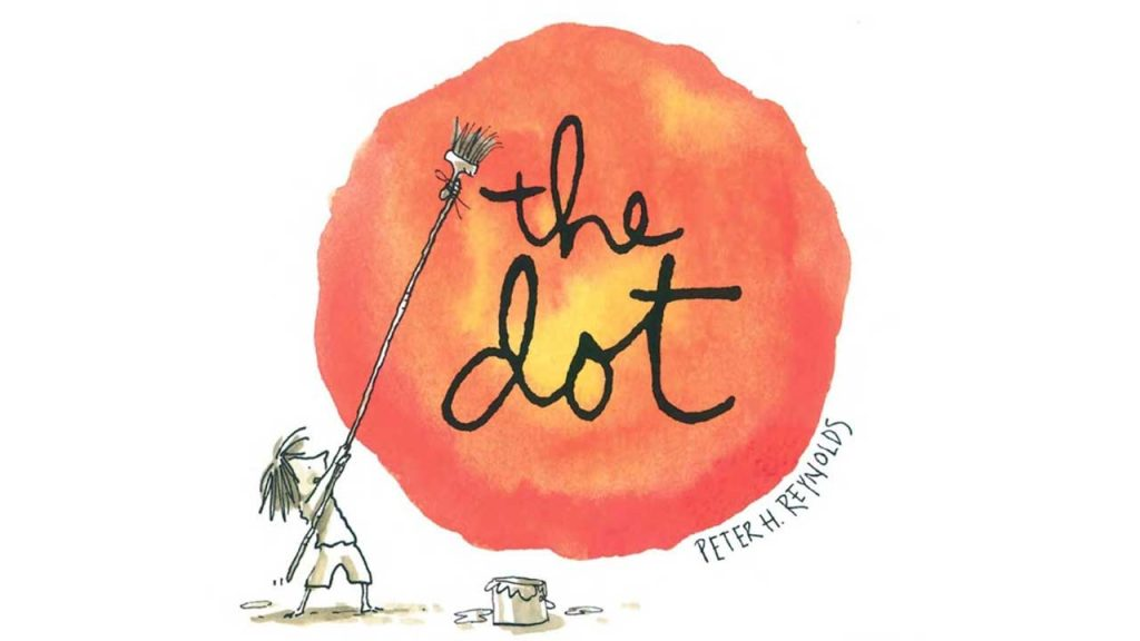 """cover of the book """"The Dot"""""""
