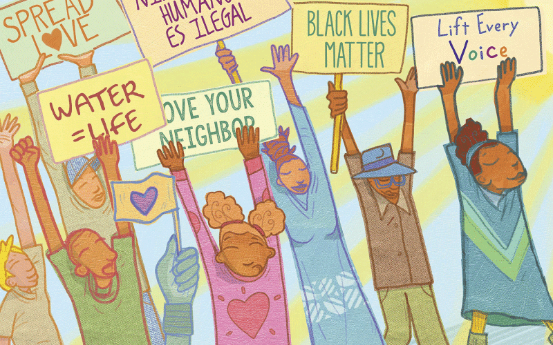 Image from the book Hands Up!