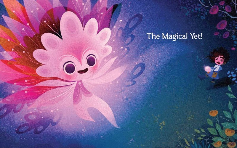 Image from The Magical Yet Book