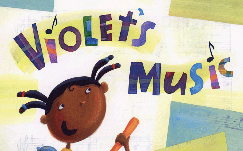 Violet's Music book cover image