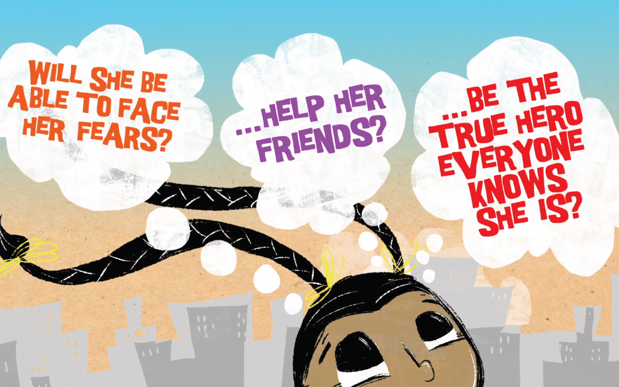 Image from Super Satya Saves the Day book