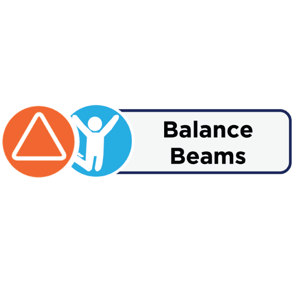 Icons and label for Balance Beams activity