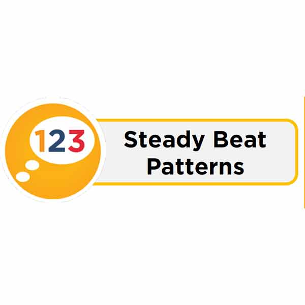 Steady Beat Pattern Card Icon