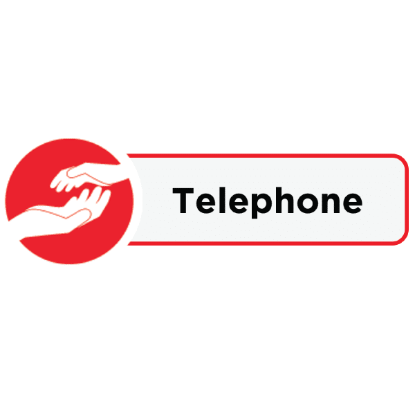 Icon and label for Telephone activity
