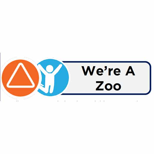 We're A Zoo Icon Card