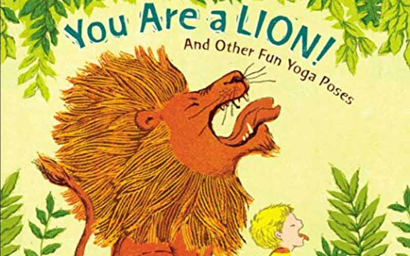 Front cover of the book You Are a Lion
